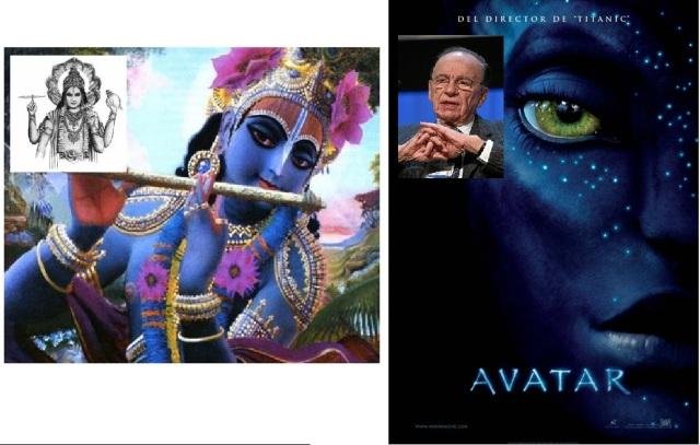 """Krsna, el octavo avatar de Vishnú """"Avatar"""", la superproducción de Rupert Murdoch"""